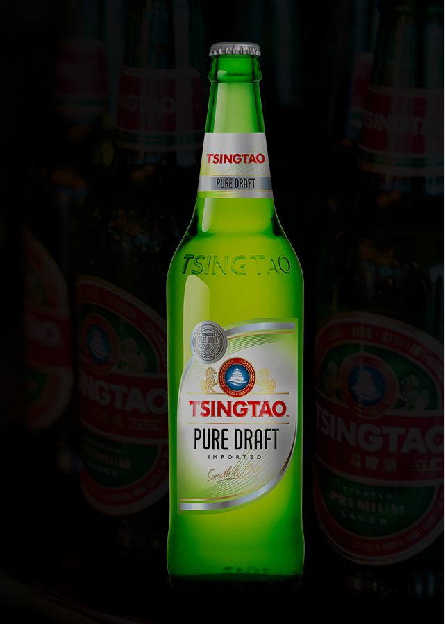 Tsingtao Pure Draft